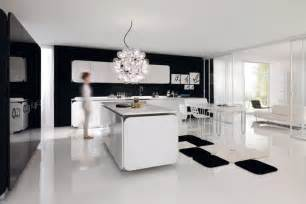 modern kitchen living room ideas applying the concept of open plan design at the contemporary home motiq home
