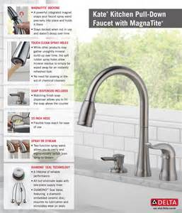 delta kate kitchen faucet delta kate single handle pull sprayer kitchen faucet with magnatite and soap