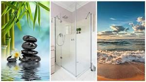 Paneele Für Bad : duschr ckwand ohne fliesen kreative motive f r ihre dusche ~ Frokenaadalensverden.com Haus und Dekorationen