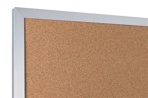 cork bulletin board  aluminum trim