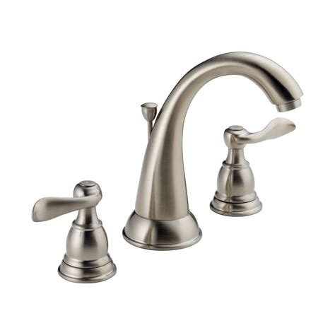 delta windemere double handle widespread with washerless
