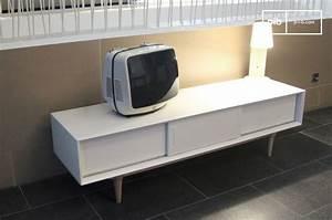 Tv Möbel Vintage : tv m bel fjord helles aufbewahrungsm bel retro stil pib ~ Sanjose-hotels-ca.com Haus und Dekorationen
