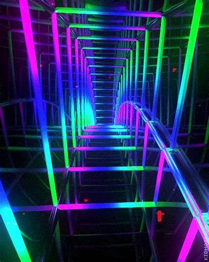 Psytrance Gifs Neon Psychedelic