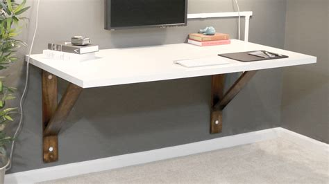 build  wall mounted desk diywithrick