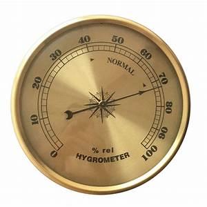 High Precision Household Indoor 108mm Hygrometer Cooper