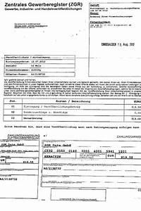 Zentrales Gewerberegister Rechnung : wko warnt vor neuer betrugsmasche mit zentralem gewerberegister aktuelles aus dem ~ Themetempest.com Abrechnung