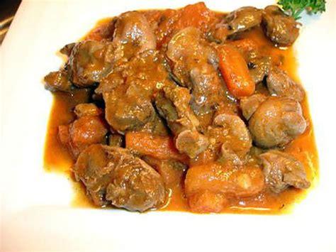 cuisiner les gesiers comment cuire gesiers de poulet
