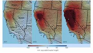 California drought is driving the depletion of ...