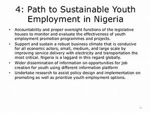 Youth Unemployment in Nigeria Challenges and Way Forward