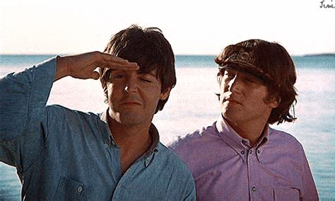 beatles gifs  paul mccartneys st birthday huffpost