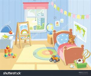 Lounge clipart childrens bedroom