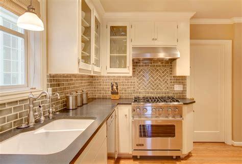 Backsplash Tile Patterns Kitchen Traditional With Antlers