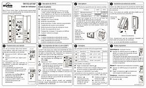 Aube Electronic Thermostat Instructions