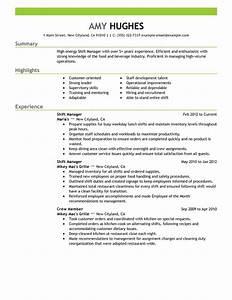 Assistant Restaurant Manager Resume - http://topresume ...
