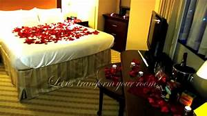 Decorate a Romantic Hotel Room - Any Hotel or B&B in the U
