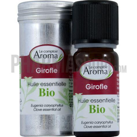 comptoir des flacons huile essentielle de girofle le comptoir aroma flacon de
