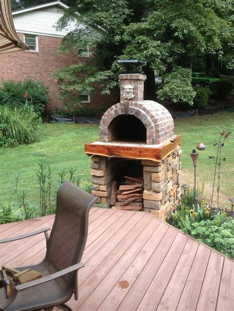 diy outdoor pizza oven plans home romantic