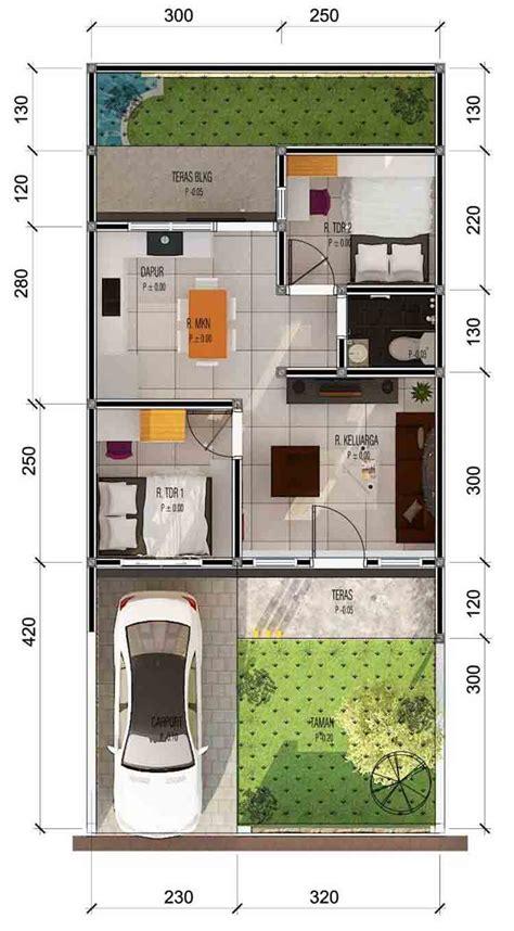 denah rumah type   tampaknya informasi desain