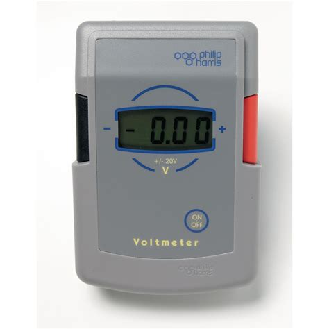 digital voltmeter millivoltmeter 1999 physics harris 9mv