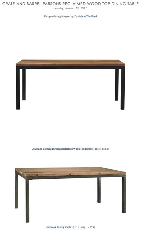 crate and barrel parsons table dining table crate barrel parsons dining table