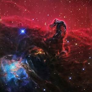 IC434,the Horsehead Nebula in Orion- detail