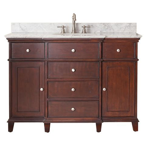 Avanity Windsor 48 Traditional Single Sink Bathroom