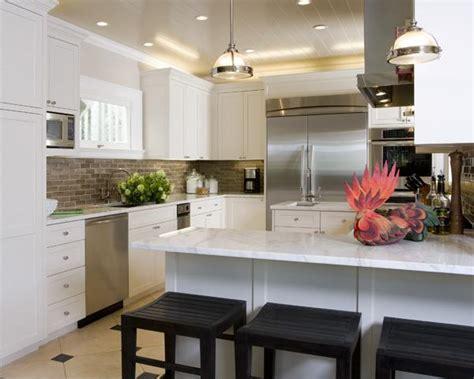 taupe kitchen backsplash transitional kitchen tish key interior design