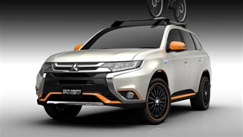 Mitsubishi Outlander Custom by Four Customized Mitsubishi Models Prepared For Tokyo Auto