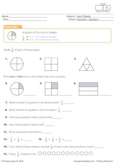 year  numeracy printable resources  worksheets