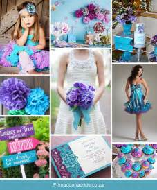 ivory aisle runner wedding colours aqua and purple primadonna
