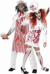 Halloween Paar Kostüme : zombie fleischerpaar halloween paarkost me und g nstige faschingskost me vegaoo ~ Frokenaadalensverden.com Haus und Dekorationen
