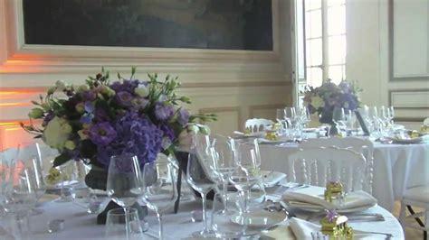 r 233 alisation centre de table mariage fleurs fruits feuillages