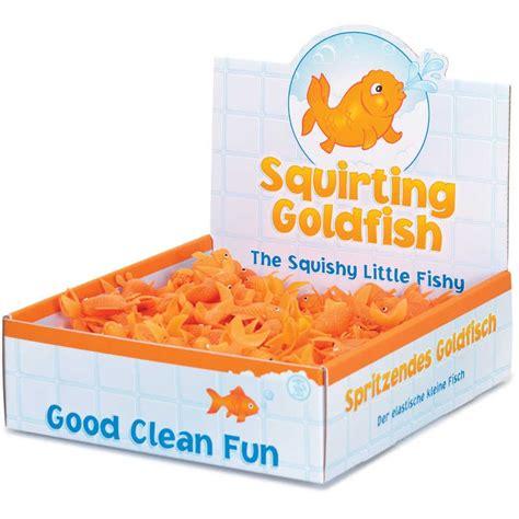 squirting goldfish tobar