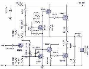 50 W Transistor Amplifier