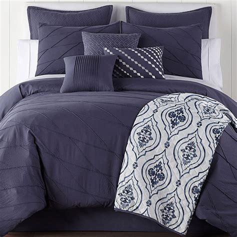 jcpenney home egan 10 pc embellished comforter color multi jcpenney