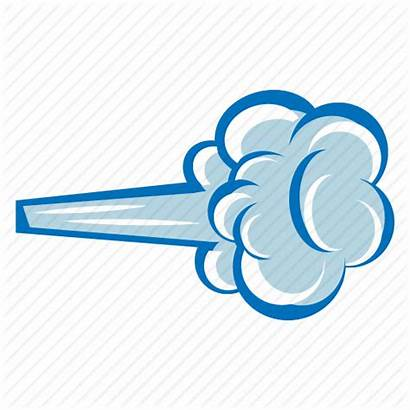 Wind Blowing Clipart Windy Icon Weather Storm