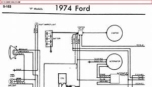 1974 F100 Ignition Switch Wiring Diagram  I Need To Know