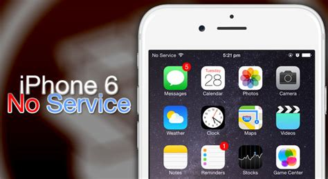 no service on iphone how to fix ios 8 no service problem iphone 6 cydia ios 9
