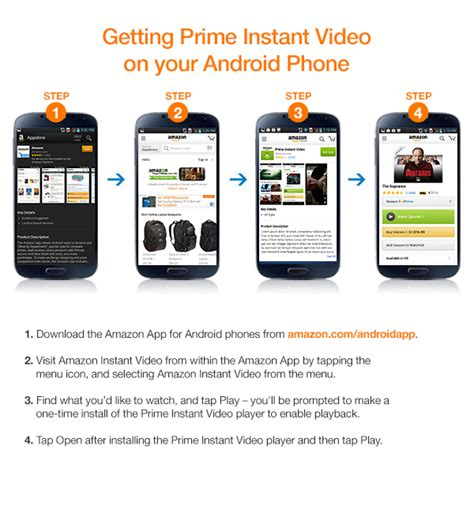 prime instant app for android prime instant on android phone