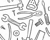 Wrench Coloring Getcolorings Construction Getdrawings Printable sketch template