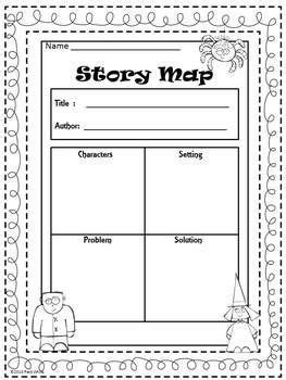 super spooky story maps  images story map reading
