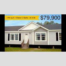 Modular Home Intimidator By Cavalier Homes  $79,900  Youtube