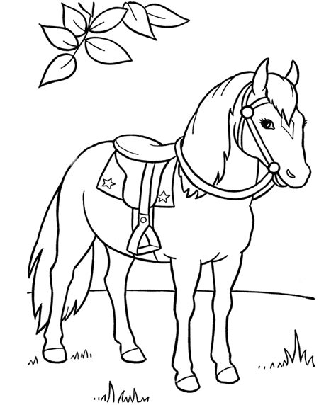 Printable Horses Coloring Pages Coloring Pages Preschool And Kindergarten
