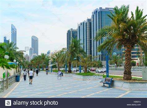 Corniche Abu Dhabi Abu Dhabi Corniche Road Stock Photos Abu Dhabi Corniche