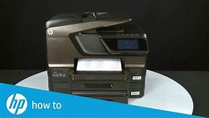 How To Put Hp Officejet 8600 In Manual Feed