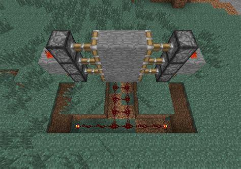 how to make a secret door in minecraft pe how to create a piston door in minecraft
