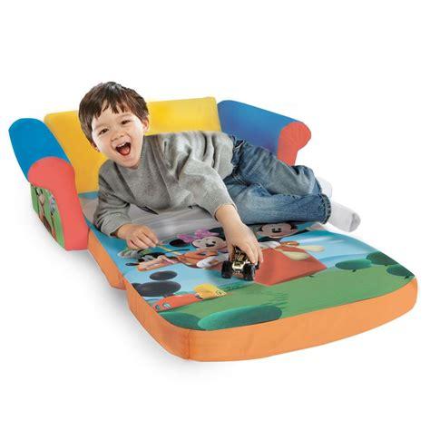 spin master marshmallow furniture flip open sofa mickey