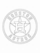 Coloring Houston Pages Astros Printable Baseball Sheets Rays Mlb Texas Sundial Tampa Bay Templates Getcolorings Sports Logos Printables sketch template