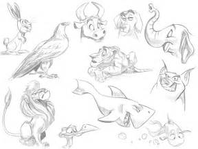 Realistic Animal Drawings Cartoon