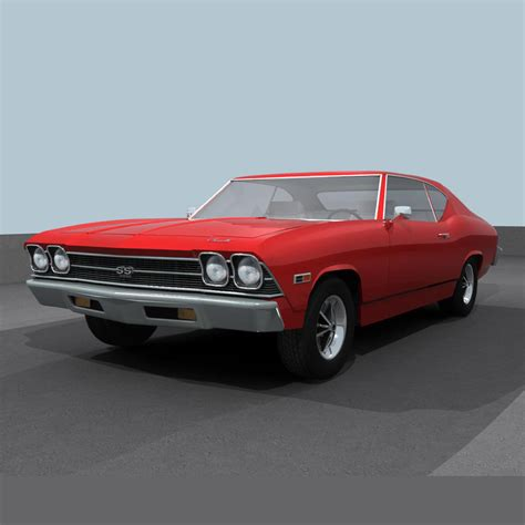 Chevelle Ss Models by 3d Chevelle 1969 Ss Model